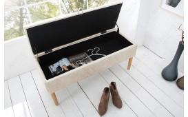 Designer Polsterbank CITADELLA BEIGE NATIVO™ Möbel Schweiz