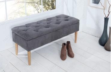 Designer Polsterbank CITADELLA GREY NATIVO™ Möbel Schweiz