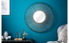 Specchio di design FUTURO L SILVER