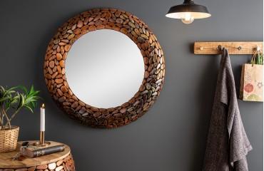 Designer Spiegel BLOCK GOLD 82 cm NATIVO™ Möbel Schweiz