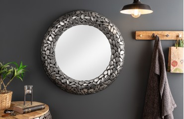 Miroir Design BLOCK SILVER 82 cm