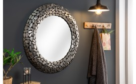 Specchio di design BLOCK SILVER 82 cm
