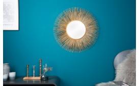 Specchio di design SOLE M GOLD