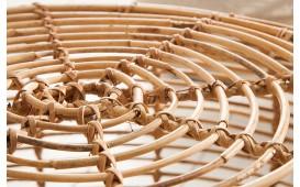 Designer Couchtisch BAMBUS 70 cm