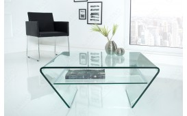 Table basse Design CLEAR 70 cm