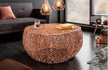 Designer Couchtisch POCAHONTAS COPPER 80 cm NATIVO™ Möbel Schweiz