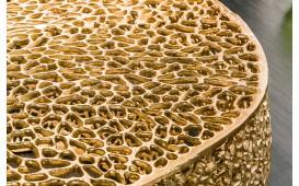 Designer Couchtisch POCAHONTAS GOLD 80 cm NATIVO™ Möbel Schweiz