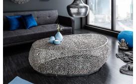 Table basse Design POCAHONTAS SILVER 122 cm