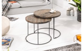 Table basse Design FIUME SET 2