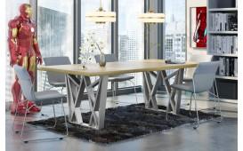 Designer Esstisch CROWN aus Massivholz