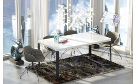 Tavolo di design CRYPTO ad alta lucentezza