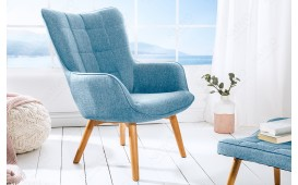 Designer Lounge Sessel BIG MAN BLUE