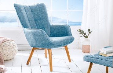 Designer Lounge Sessel BIG MAN BLUE NATIVO™ Möbel Schweiz