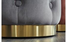Pouf di design ROCCO CHESTER ROSE GOLD