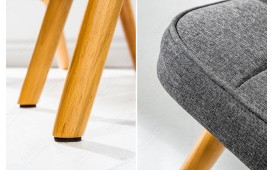 Pouf di design MAN GREY