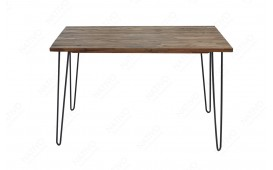 Tavolo da pranzo MAN GREY 120 cm
