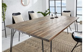 Table Design RENO BROWN 160 cm