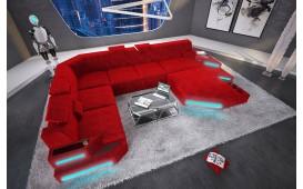 Canapé Design NEMESIS XXL avec éclairage LED & port USB NATIVO™ Möbel Schweiz