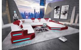 Designer Sofa NEMESIS XXL mit LED Beleuchtung & USB Anschluss NATIVO™ Möbel Schweiz