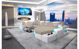 Divano di design NEMESIS XL con illuminazione a LED e presa USB NATIVO™ Möbel Schweiz