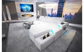 Canapé Design NEMESIS MINI avec éclairage LED & port USB
