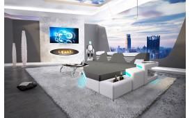 Designer Sofa NEMESIS MINI mit LED Beleuchtung & USB Anschluss NATIVO™ Möbel Schweiz