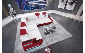 Canapé Design NEMESIS CORNER avec éclairage LED & port USB NATIVO™ Möbel Schweiz