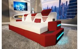 Canapé Design 3 places NEMESIS avec éclairage LED & port USB NATIVO™ Möbel Schweiz