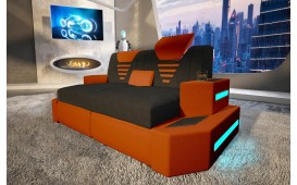 Divano di design  a 2 posti  NEMESIS con illuminazione a LED e presa USB NATIVO™ Möbel Schweiz