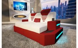 2 Sitzer Sofa  NEMESIS mit LED Beleuchtung & USB Anschluss NATIVO™ Möbel Schweiz