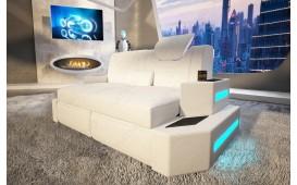 Canapé Design 2 places NEMESIS avec éclairage LED & port USB NATIVO™ Möbel Schweiz