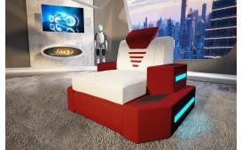 Fauteuil Design NEMESIS avec éclairage LED & port USB