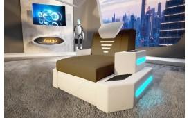 Poltrona di design NEMESIS con illuminazione a LED e presa USB NATIVO™ Möbel Schweiz