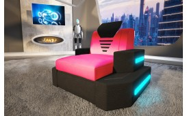 Sessel NEMESIS mit LED Beleuchtung & USB Anschluss NATIVO™ Möbel Schweiz