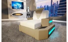 Fauteuil Design NEMESIS avec éclairage LED & port USB NATIVO™ Möbel Schweiz
