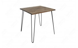 Designer Esstisch RENO BROWN 80 cm NATIVO™ Möbel Schweiz