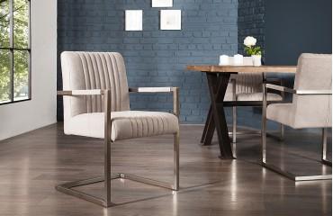 Chaise Design VILLA BIG GREY