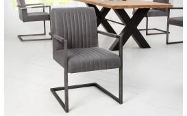 2 x Chaise Design VILLA VINTAGE GREY