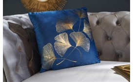 Cuscino di design ERBA BLUE