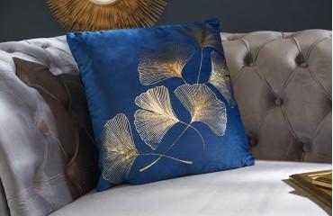 Design Kissen ERBA BLUE NATIVO™ Möbel Schweiz