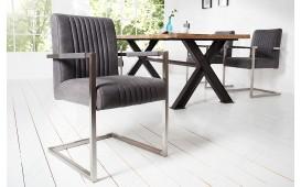 2 x Chaise Design VILLA VINTAGE AVEC ACCOUDOIR