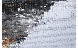 Designer Kissen GLOSSY SILVER-WHITE NATIVO™ Möbel Schweiz
