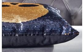 Designer Kissen BONE GOLD-BLACK NATIVO™ Möbel Schweiz