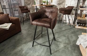 Designer Barhocker RIFLE BROWN NATIVO™ Möbel Schweiz