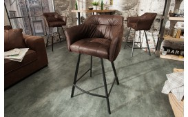 Sgabello da bar RIFLE BROWN