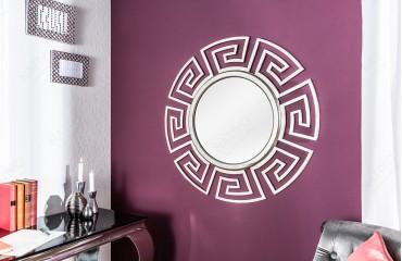 Specchio di design MASSIVO SILVER 85 cm