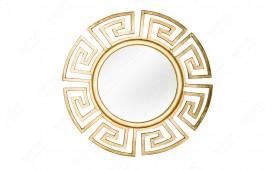 Designer Spiegel MASSIVO GOLD 85 cm NATIVO™ Möbel Schweiz