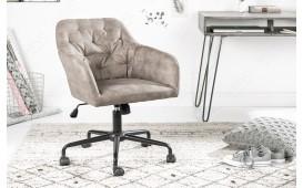Designer Bürostuhl WADE BEIGE