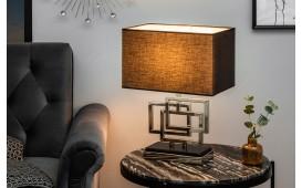 Designer Tischleuchte LEONOTIS SILVER 56 cm