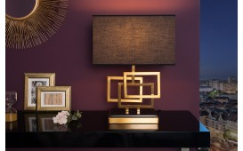 Designer Tischleuchte LEONOTIS GOLD 56 cm